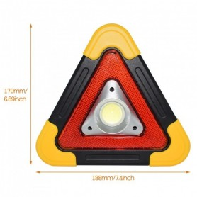 Emergency beacon and reflector LED battery cob 50 watts