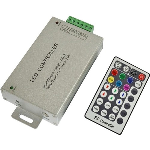 Accesorios Neon Led Flexible - Controladora RGB 24 amper 24 botones